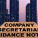 COMPANY SECRETARIAL GUIDANCE NOTES